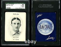 1904 Fan Craze American League BOB WALLACE St. Louis SGC 6.5