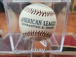 1920s Red And Blue Stitched American League Baseballs New In Boxes