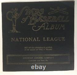 1922 American Carmel E120, Stars Of Baseball Album, National League