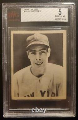 1939 Play Ball #26 Joe DiMaggio ROOKIE BVG 5 excellent