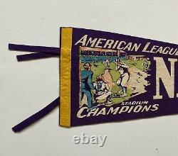 1940s New York Yankees American League Champions Pennant Nice