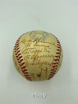 1945 Washington Senators Team Signed Official American League Baseball JSA COA