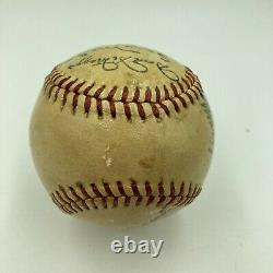 1947 Boston Red Sox Team Signed American League Baseball Ted Williams PSA DNA