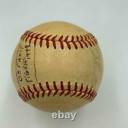 1948 Detroit Tigers Signed Autographed Official American League Baseball