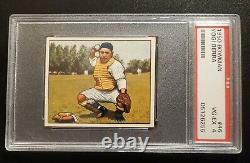 1950 Bowman #46 Yogi Berra PSA 4 VG-EX GREAT CENTERING