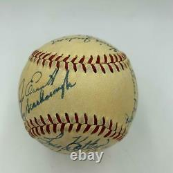 1950 Chicago White Sox Team Signed American League Baseball With Nellie Fox