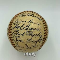 1952 Chicago White Sox Team Signed American League Baseball With Nellie Fox