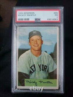 1954 Mickey Mantle Bowman PSA 1 New York Yankees The Mick Rare Low Pop HOF