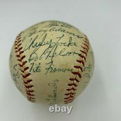 1956 Baltimore Orioles Team Signed American League Baseball With Brooks Robinson