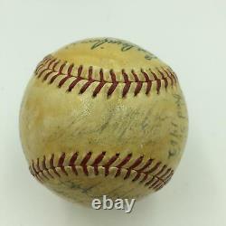 1962 Boston Red Sox Team Signed Official American League Baseball JSA COA