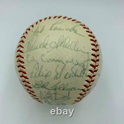 1964 Boston Red Sox Team Signed American League Baseball Carl Yastrzemski JSA