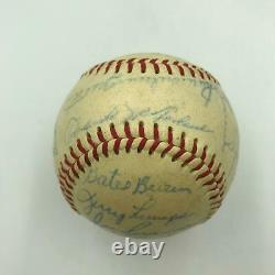 1966 Detroit Tigers Team Signed Official American League Baseball With JSA COA