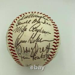 1967 Boston Red Sox AL Champs Team Signed American League Baseball With COA