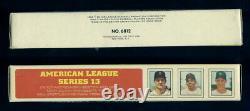 1970 Transogram American League Complete Box Yastrzemski Oliva Stottlemyre (554)