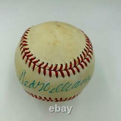 1970's Ted Williams Signed Vintage American League Baseball With JSA COA