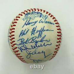 1979 Toronto Blue Jays Team Signed Autographed American League Baseball