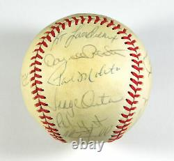 1980 American League AL All Star Team Signed Baseball (22 Autos)