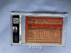 1982 Topps Traded Cal Ripken Jr. Card # 98T PSA 7 NM