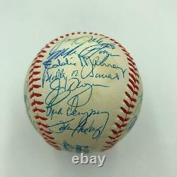 1985 Baltimore Orioles Team Signed American League Baseball With Cal Ripken Jr