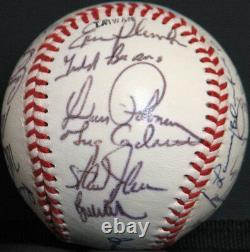 1988 Oakland Athletics A's American League Champs Team Signed Baseball PSA DNA
