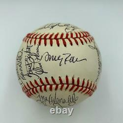 1990 California Angels Team Signed Autographed American League Baseball