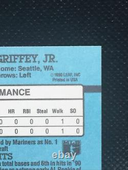 1991 Donruss Ken Griffey Jr 49 American League Error Card! INC No Dot