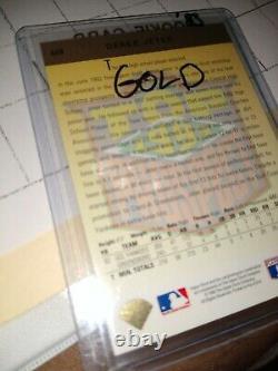 1993 Upper Deck Gold Hologram Top Prospect #449 Derek Jeter