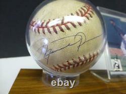 1996 Michael Jordan Autographed Baseball with COA American League White Sox