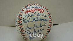 1997 American League All Star Team Signed Ball Ripken, Rodriguez, Rivera PSA/DNA