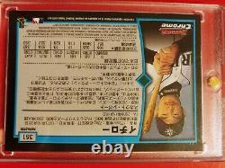 2001 Ichiro Suzuki Bowman Chrome Rc Refractor #351 Japanese Version