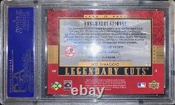 2003 SP Legendary Cuts Upper Deck Jolting Joe DiMaggio Cut Check PSA 7