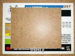 2006 Topps cd#297 (cut out version) Alex Gordon