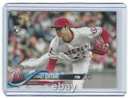 2018 Topps Update US1 Shohei Ohtani RC SSP Pitching Photo Variation VERY RARE