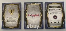 2019 Topps Triple Threads George Springer All-Star Game Jumbo Patch Booklet #1/1