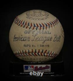 Babe Ruth Autographed Baseball American League Reach Ball Signed Museum Replica