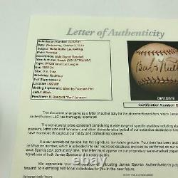 Babe Ruth & Lou Gehrig 1923 Rookie Signed American League Baseball With JSA COA