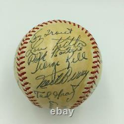 Beautiful 1949 Detroit Tigers Team Signed American League Baseball With JSA COA