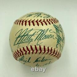 Beautiful 1953 St. Louis Browns Team Signed American League Baseball PSA DNA COA