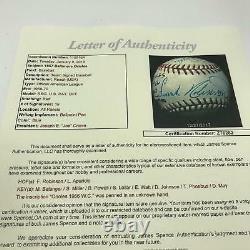 Beautiful 1967 Baltimore Orioles Team Signed American League Baseball JSA COA