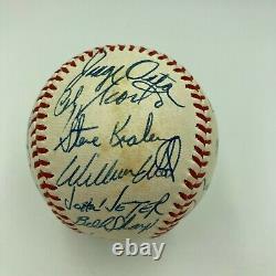 Beautiful 1973 Chicago White Sox Team Signed American League Joe Cronin Baseball