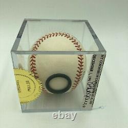 Beautiful Mickey Mantle 536 Home Runs Signed American League Baseball JSA COA