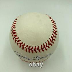 Beautiful Mickey Mantle Signed American League Baseball Mint Autograph JSA COA