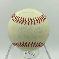 Beautiful Stan Stanley Coveleski Single Signed American League Baseball JSA COA
