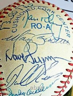 Beckett Authentication 1984 Detroit Tigers American League Baseball Signed By 32