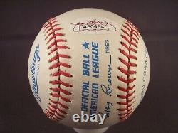 Bill Dickey Signed American League Baseball JSA
