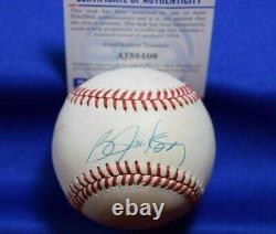 Bo Jackson PSA DNA Coa Autograph American League OAL Signed Baseball