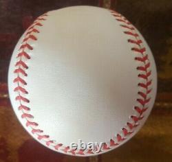 Bob Uecker Auto Autographed Signed Budig American League Baseball PSA authentic