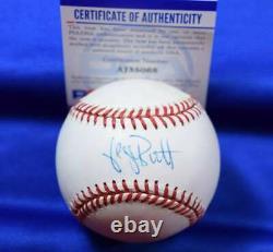George Brett PSA DNA Coa Autographed American League OAL Signed Baseball