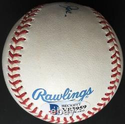 Harmon Killebrew HOF 1984 Full Name Signed American League Baseball, Beckett COA