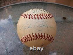 Jackie Jensen Signed Official American League Baseball Boston Red Sox Jsa Loa